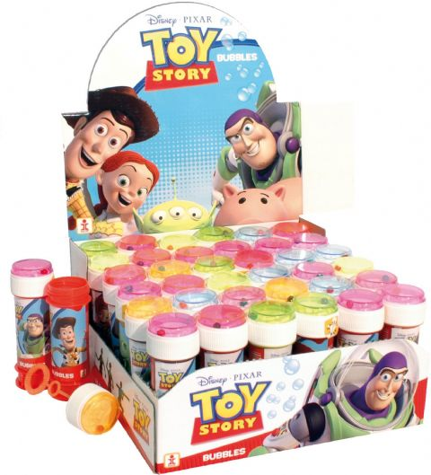 36 x Disney Pixar Toy Story - Puzzle Maze Tub Bubbles 60ml Wholesale Bulk Buy